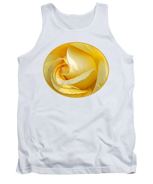 Sunshine Rose Tank Top by Gill Billington