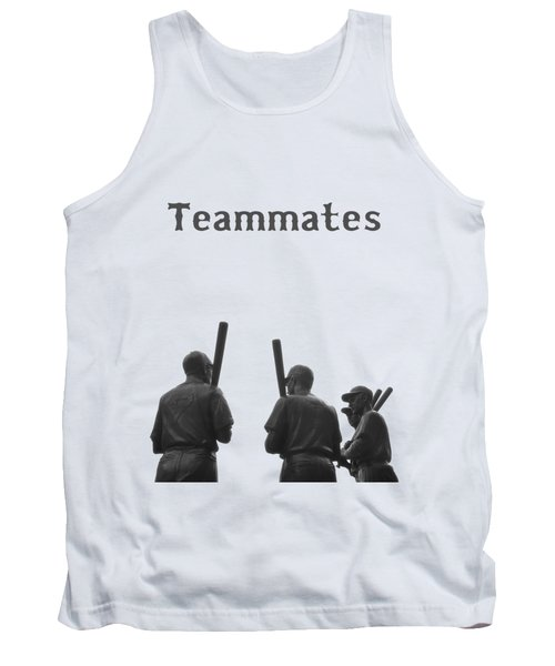 Teammates Poster - Boston Red Sox Tank Top by Joann Vitali