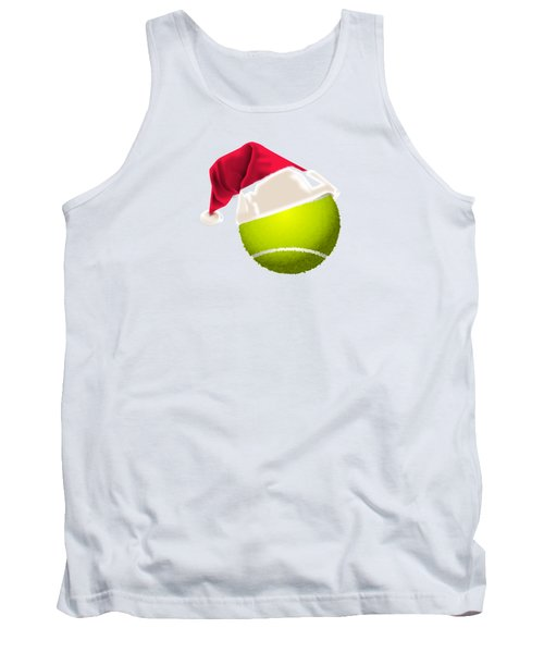 Tennis Christmas Gifts Tank Top by MGdezigns