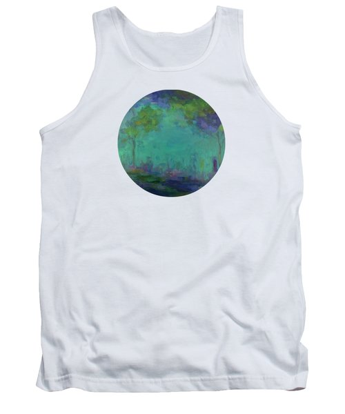 The City In The Distance Tank Top by Mary Wolf