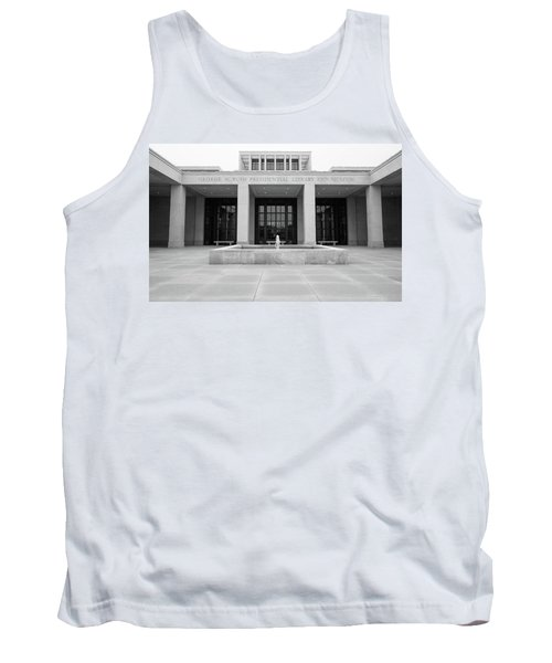 The George W. Bush Presidential Library And Museum  Tank Top by Robert Bellomy
