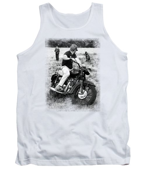 The Great Escape Tank Top by Mark Rogan