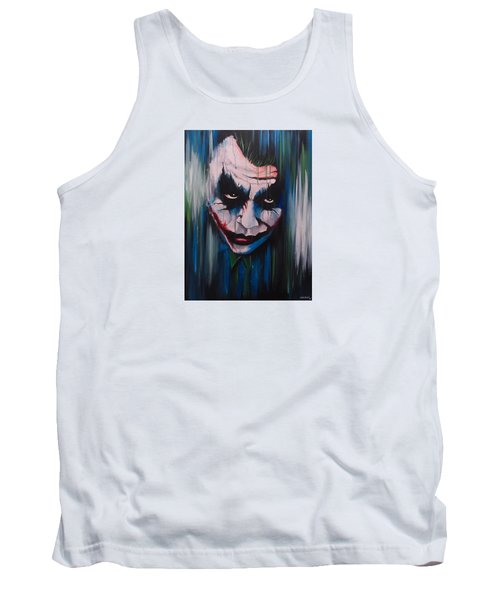 The Joker Tank Top by Michael Walden