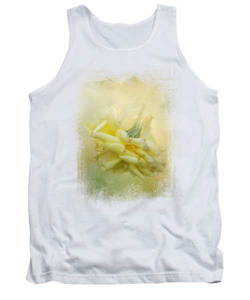 The Last Yellow Rose Tank Top by Jai Johnson