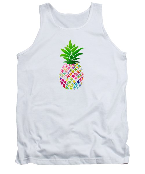 The Pineapple Tank Top by Maddie Koerber