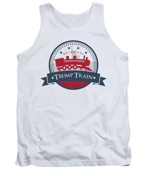 Trump Train Tank Top by Eye Candy Creations