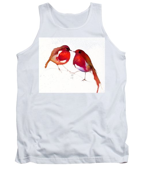 Two Little Birds Tank Top by Nancy Moniz