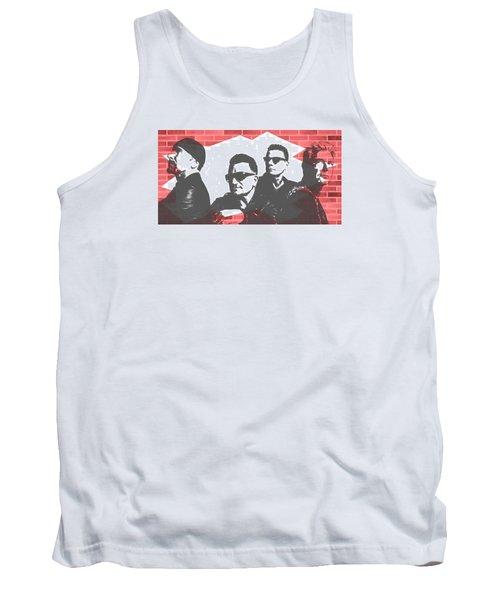 U2 Graffiti Tribute Tank Top by Dan Sproul