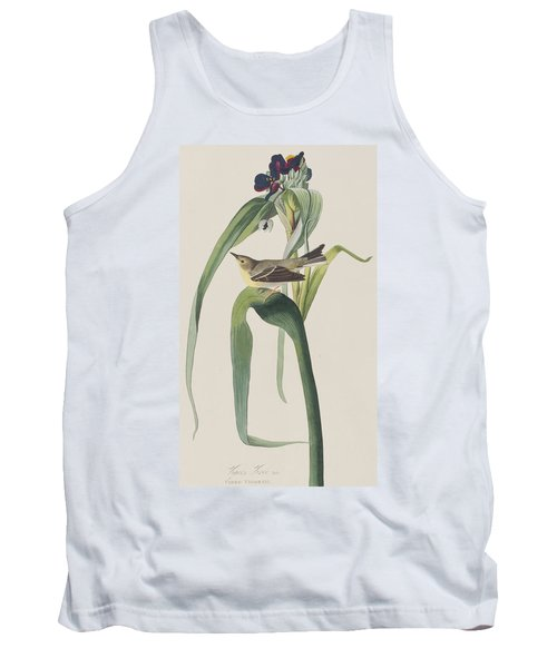 Vigor's Warbler Tank Top by John James Audubon