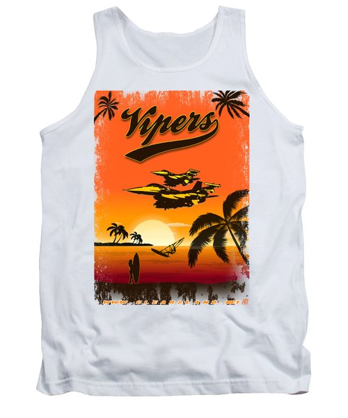 Vipers  F16 Tank Top by Clear II land Net