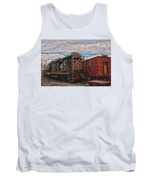 Waiting For Work Tank Top by Michael Connor