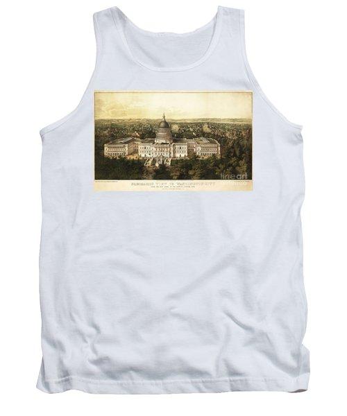 Washington City 1857 Tank Top by Jon Neidert