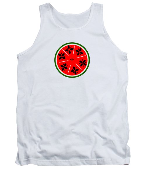 Watermelon Summer Tank Top by Chastity Hoff
