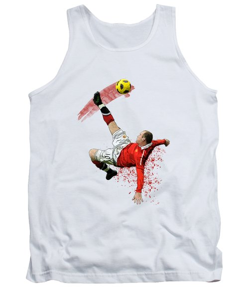 Wayne Rooney Tank Top by Armaan Sandhu