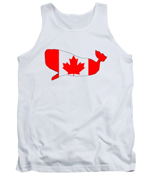 Whale Canada Tank Top by Mordax Furittus