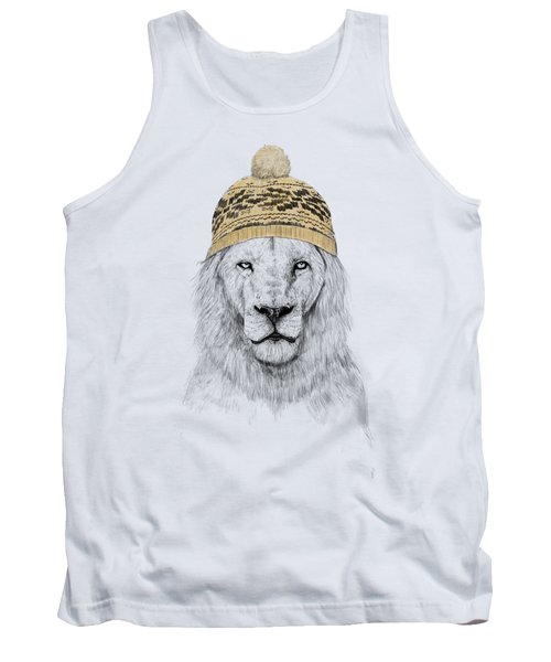 Winter Is Coming Tank Top by Balazs Solti