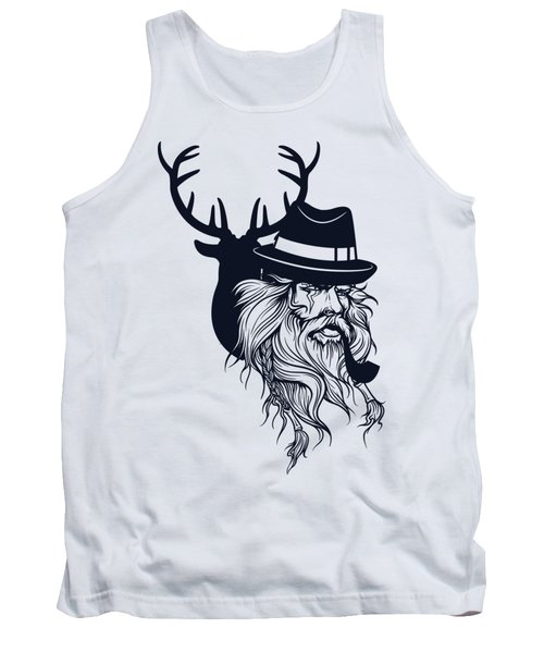 Wise Wild Tank Top by Argd