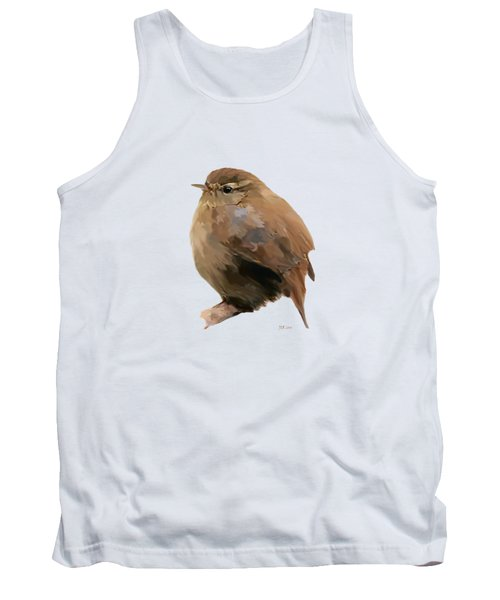 Young Female Blackbird - Turdus Merula Tank Top by Bamalam  Photography