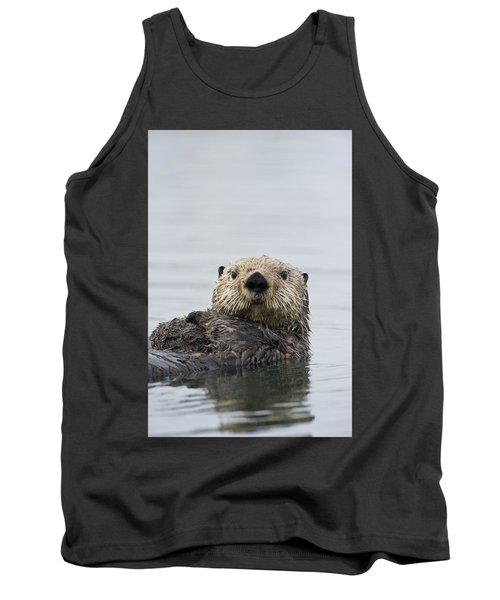 Sea Otter Alaska Tank Top by Michael Quinton