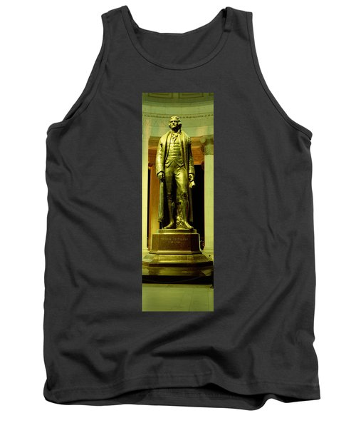 Jefferson Memorial, Washington Dc Tank Top by Panoramic Images