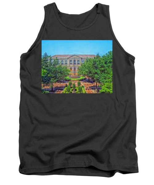 The Old Main - University Of Arkansas Tank Top by Mountain Dreams