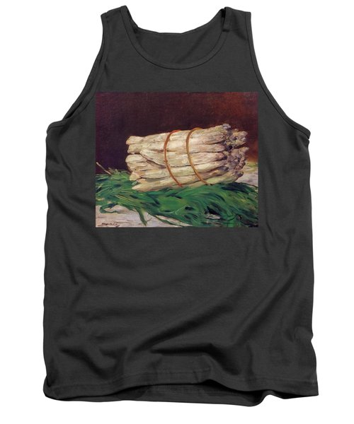 A Bunch Of Asparagus Tank Top by Edouard Manet
