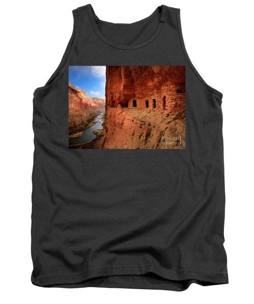 Anasazi Granaries Tank Top by Inge Johnsson