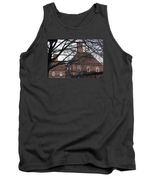 The British Ambassador's Residence Behind Trees Tank Top by Cora Wandel