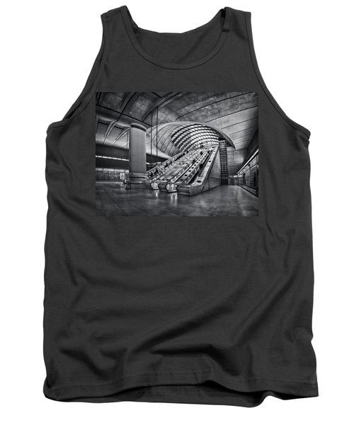Beneath The Surface Of Reality Tank Top by Evelina Kremsdorf