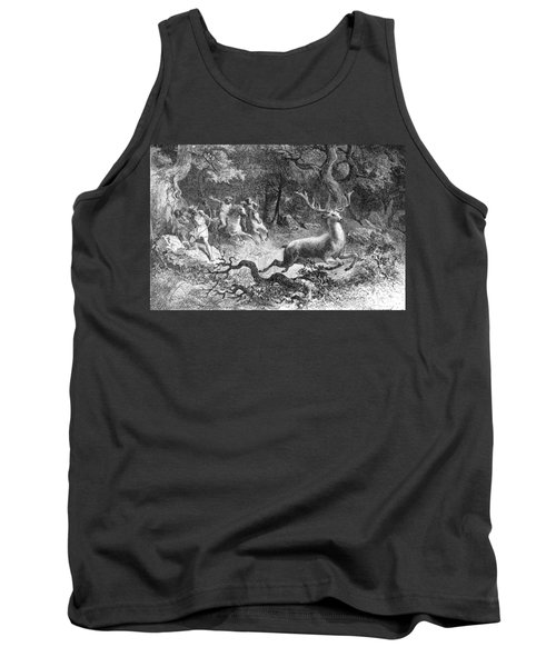 Tank Top featuring the photograph Bronze Age, Hunting Scene by British Library