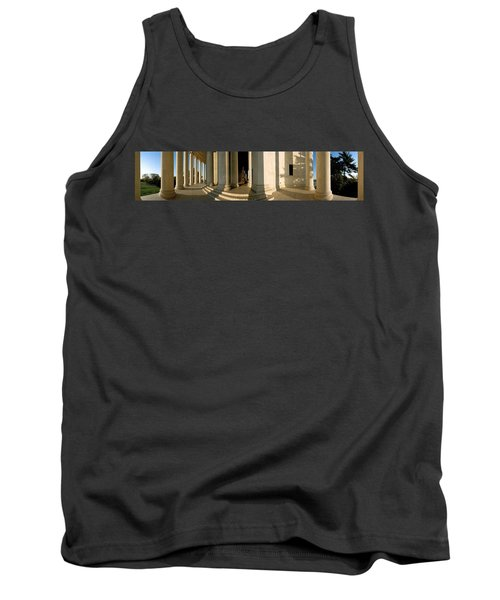 Columns Of A Memorial, Jefferson Tank Top by Panoramic Images