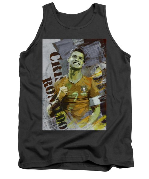 Cristiano Ronaldo Tank Top by Corporate Art Task Force
