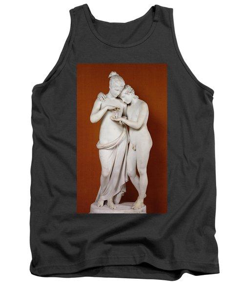 Cupid And Psyche Tank Top by Antonio Canova