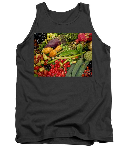 Exotic Fruits Tank Top by Carey Chen