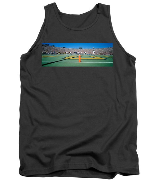 Football Game, University Of Michigan Tank Top by Panoramic Images