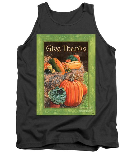 Give Thanks Tank Top by Debbie DeWitt