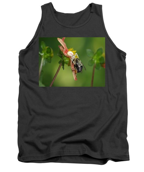 Goldenrod Spider Tank Top by James Peterson