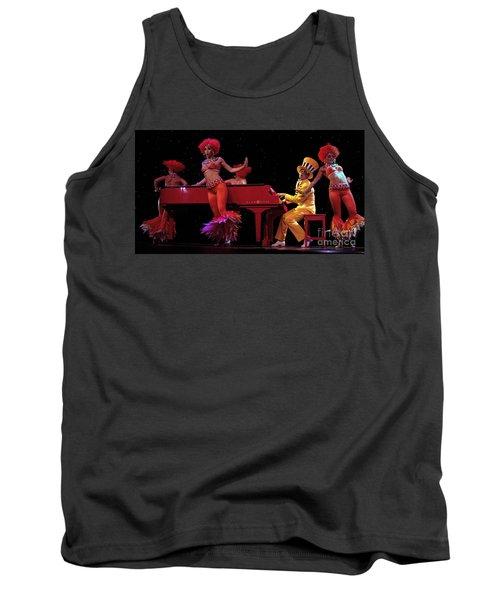 I Love Rock And Roll Music Tank Top by Bob Christopher