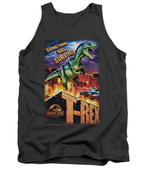 Jurassic Park - Rex In The City Tank Top by Brand A
