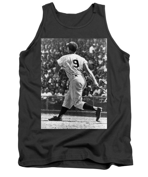 Maris Hits 52nd Home Run Tank Top by Underwood Archives