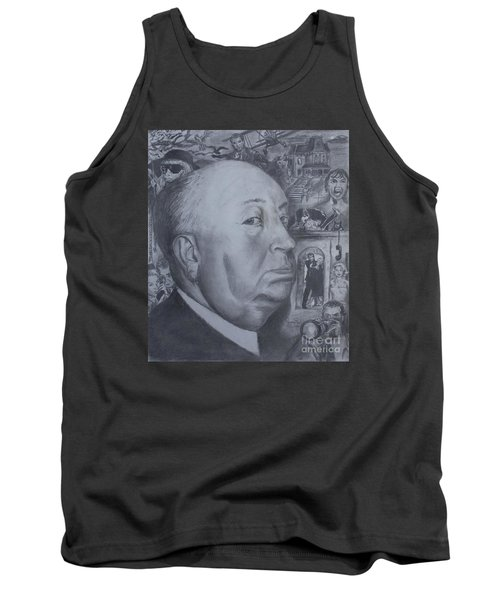 Master Of Suspense Tank Top by Jeremy Reed