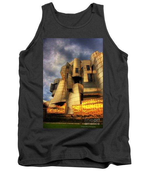 Minneapolis Skyline Photography Weisman Museum Tank Top by Wayne Moran