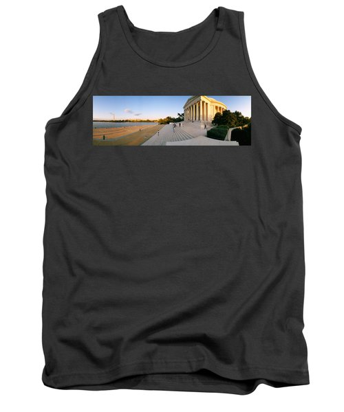 Monument At The Riverside, Jefferson Tank Top by Panoramic Images
