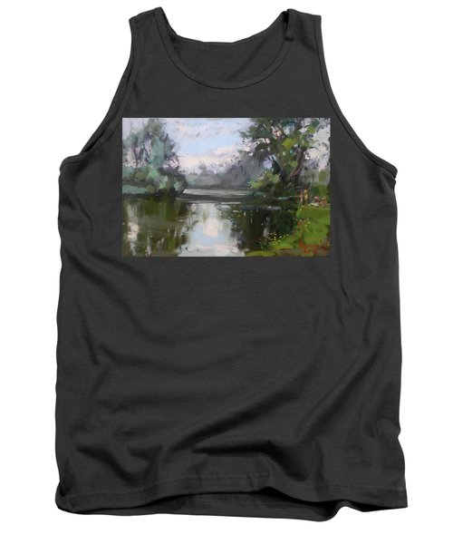 Outdoors At Hyde Park Tank Top by Ylli Haruni