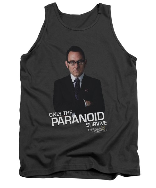 Person Of Interest - Paranoid Tank Top by Brand A