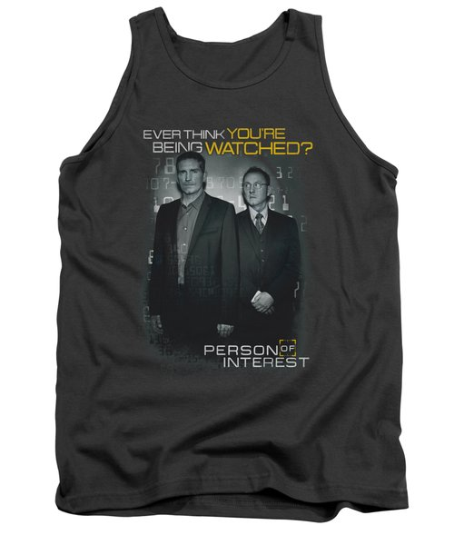 Person Of Interest - Watched Tank Top by Brand A