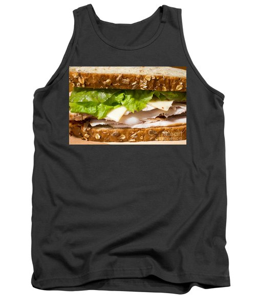 Smoked Turkey Sandwich Tank Top by Edward Fielding