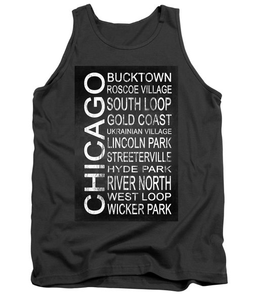 Subway Chicago 2 Tank Top by Melissa Smith