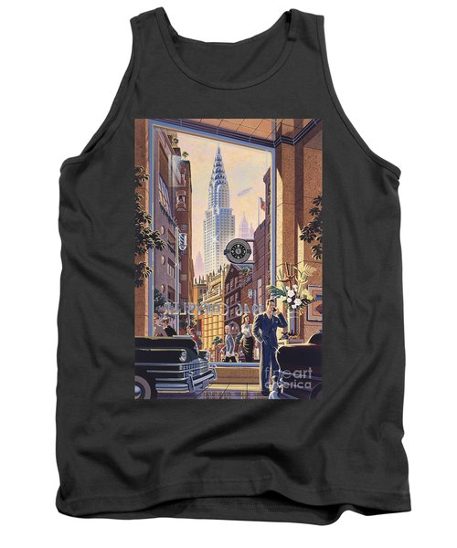 The Chrysler Tank Top by Michael Young