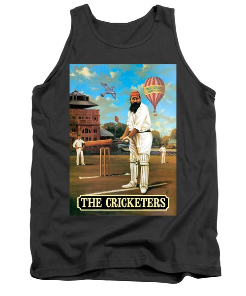 The Cricketers Tank Top by Peter Green